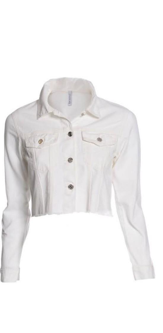 Jaqueta Color Off White