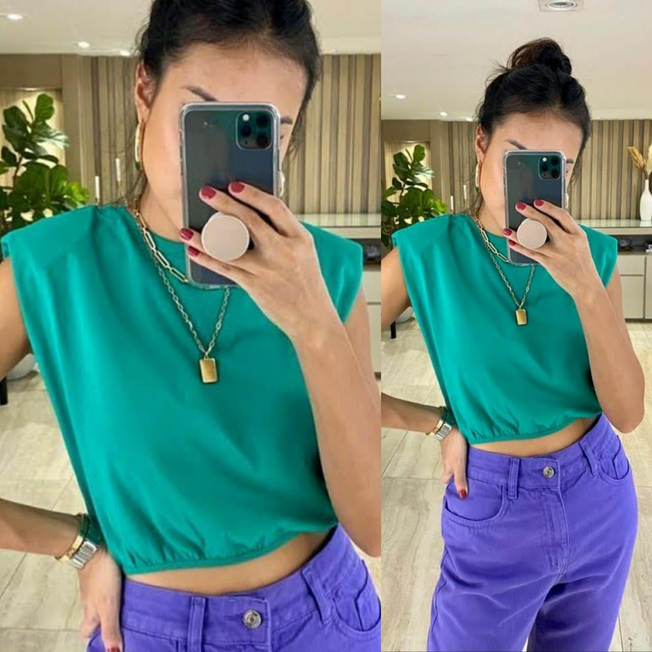 Muscle Tee Cropped