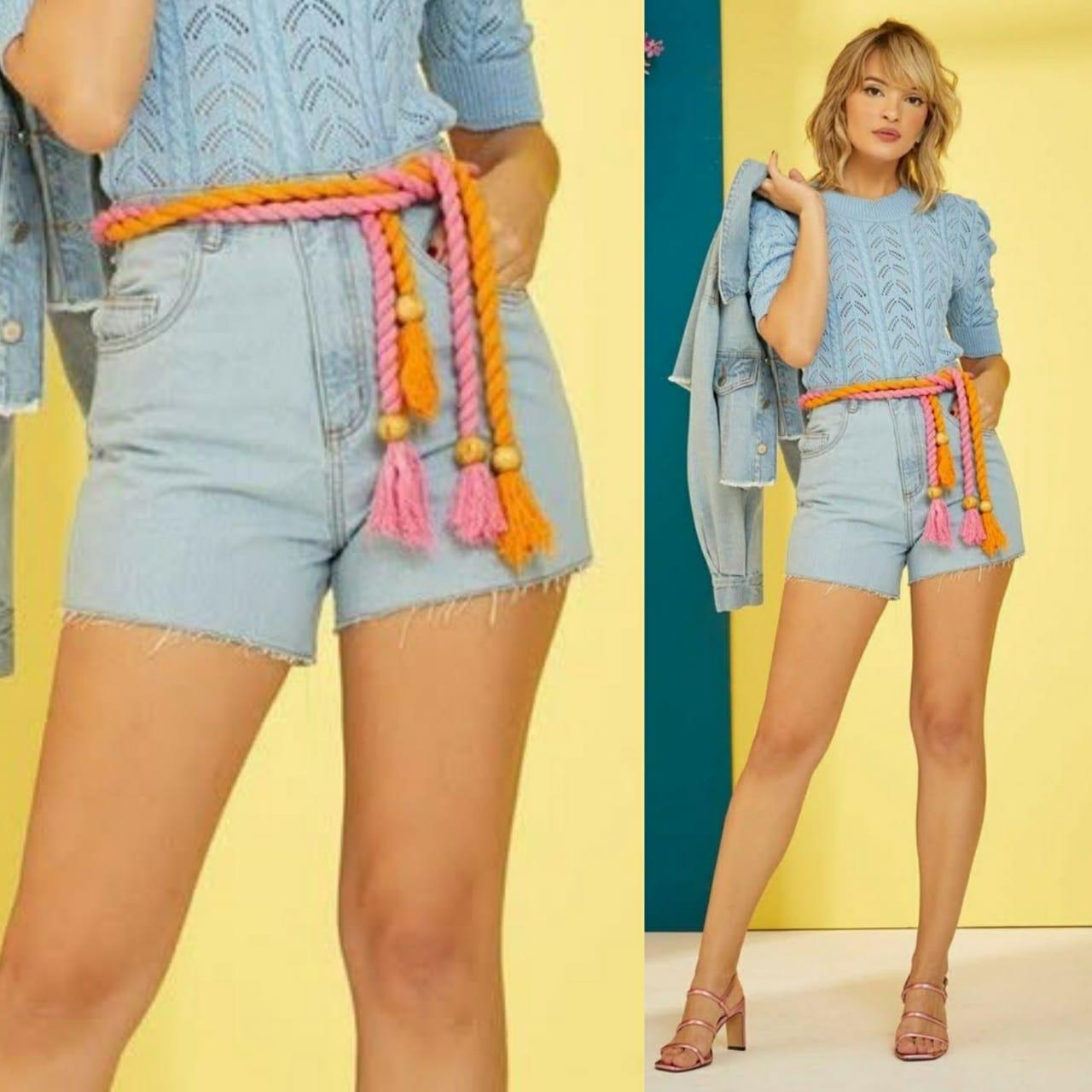 Short Jeans Barra
