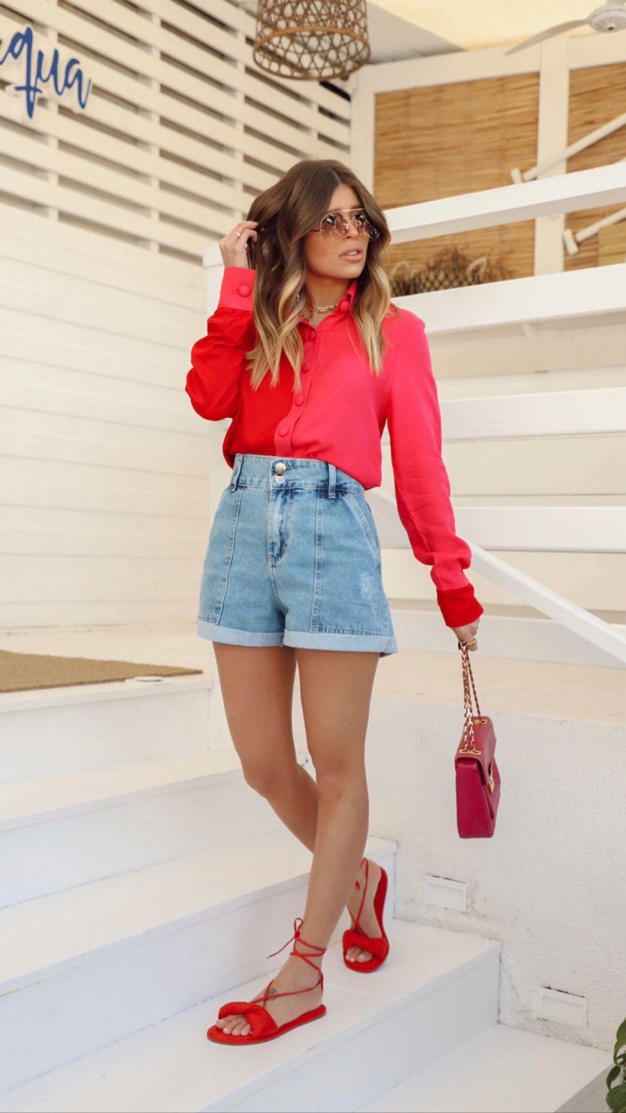 Short Jeans Bolso