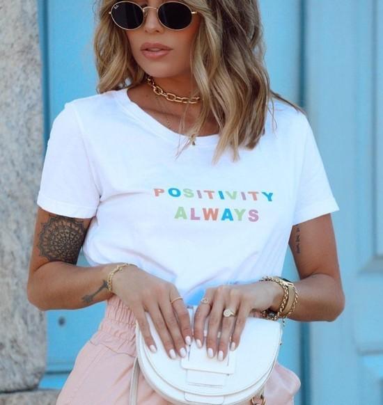T Shirt Positivity Always
