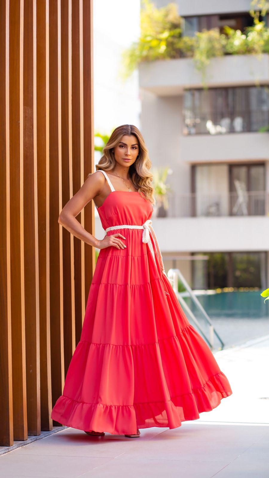Vestido Macramê