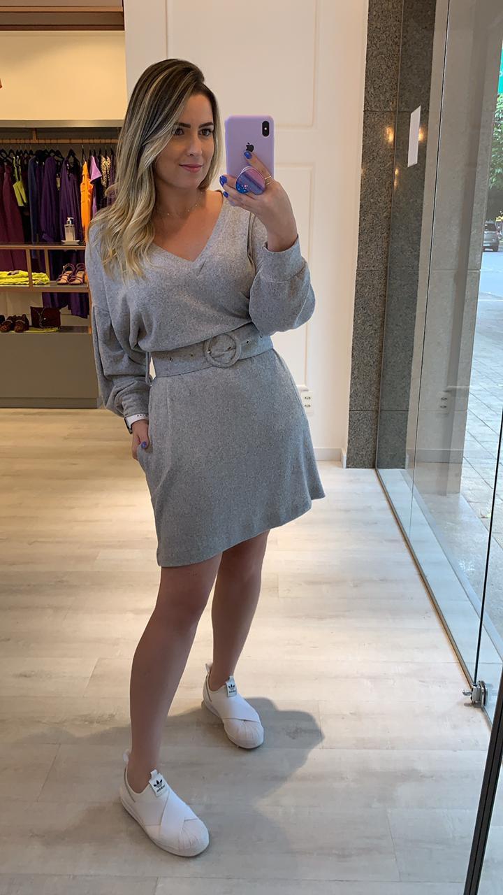 Vestido Moletinho