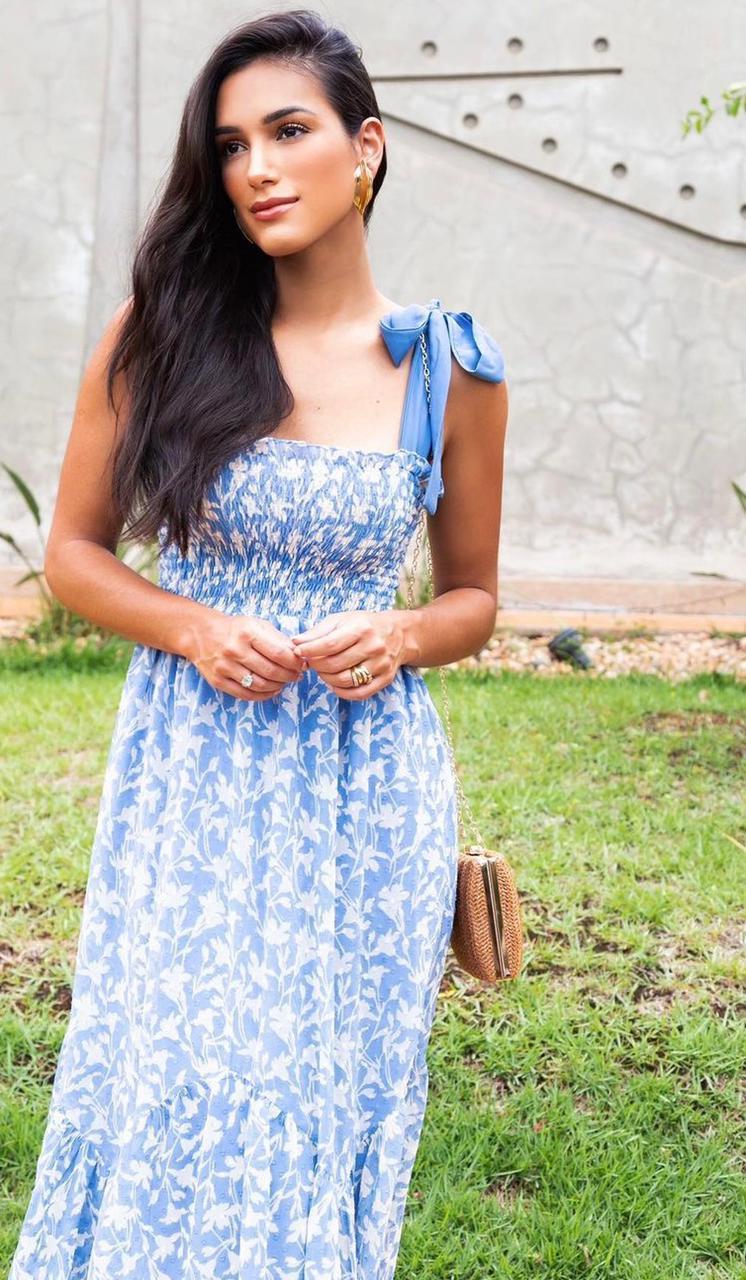 Vestido Saia Floral