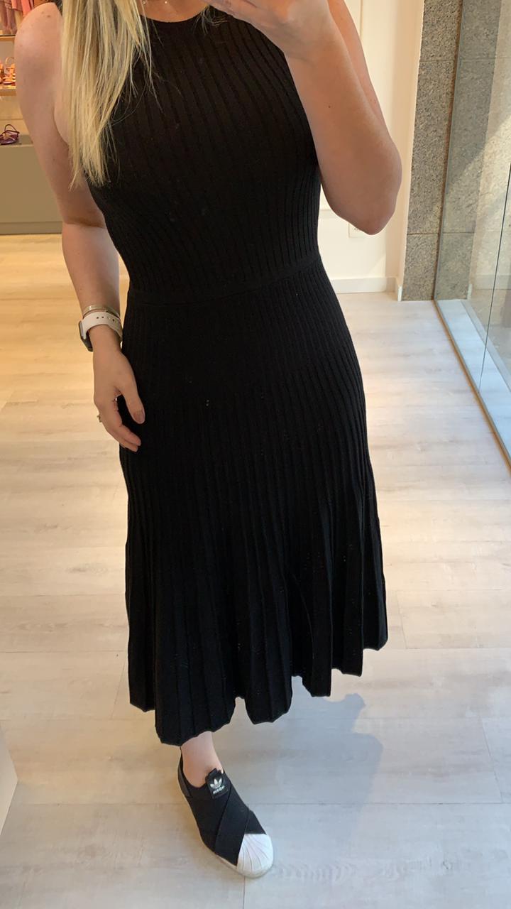 Vestido Tricot Midi