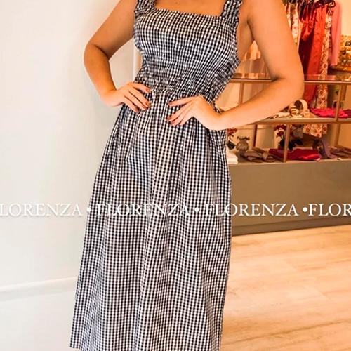 Vestido Vichy P&B