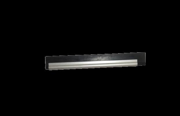 Caneleta de metal preta 12cm  - SUN PROTECT