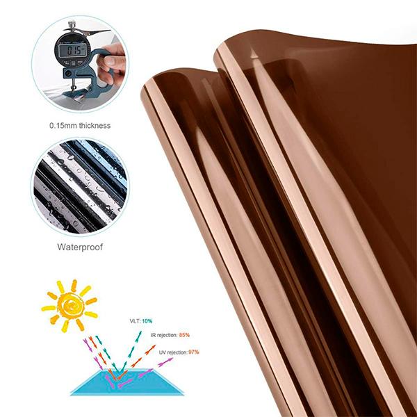Película Bronze Espelhado  - SUN PROTECT