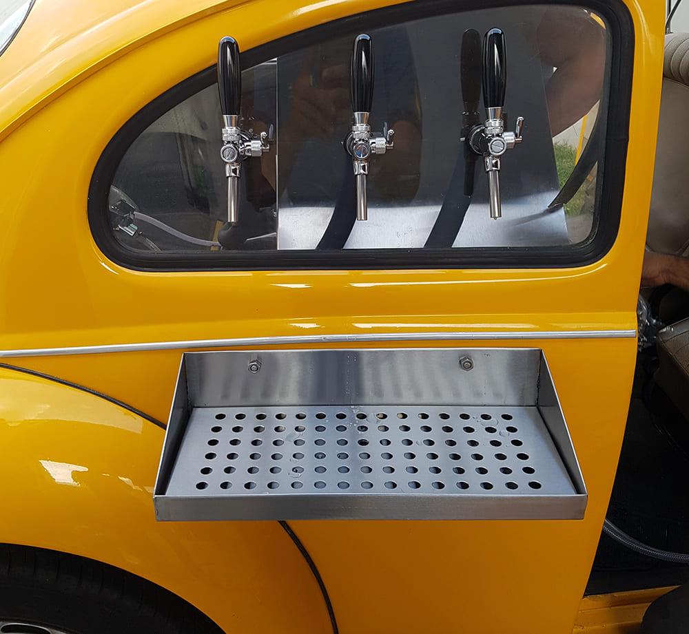 Kit P/ Beer Truck Com Resfriador A Gelo 3 Vias Chopp