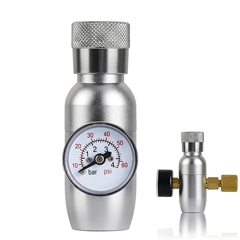 Mini Regulador Co2 Growler Keg Cerveja Para Ball Lock