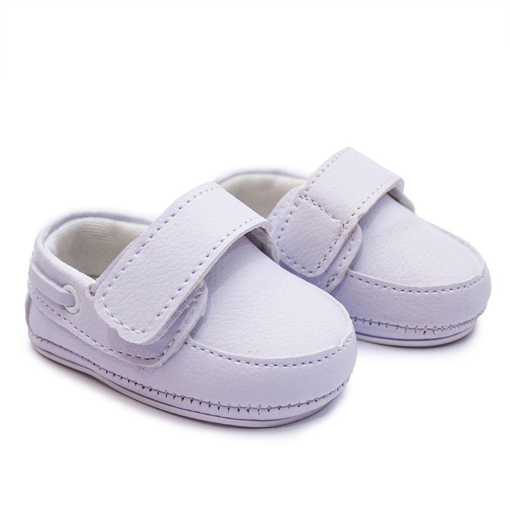 Alpargata de Bebê com Tira de Velcro BE04
