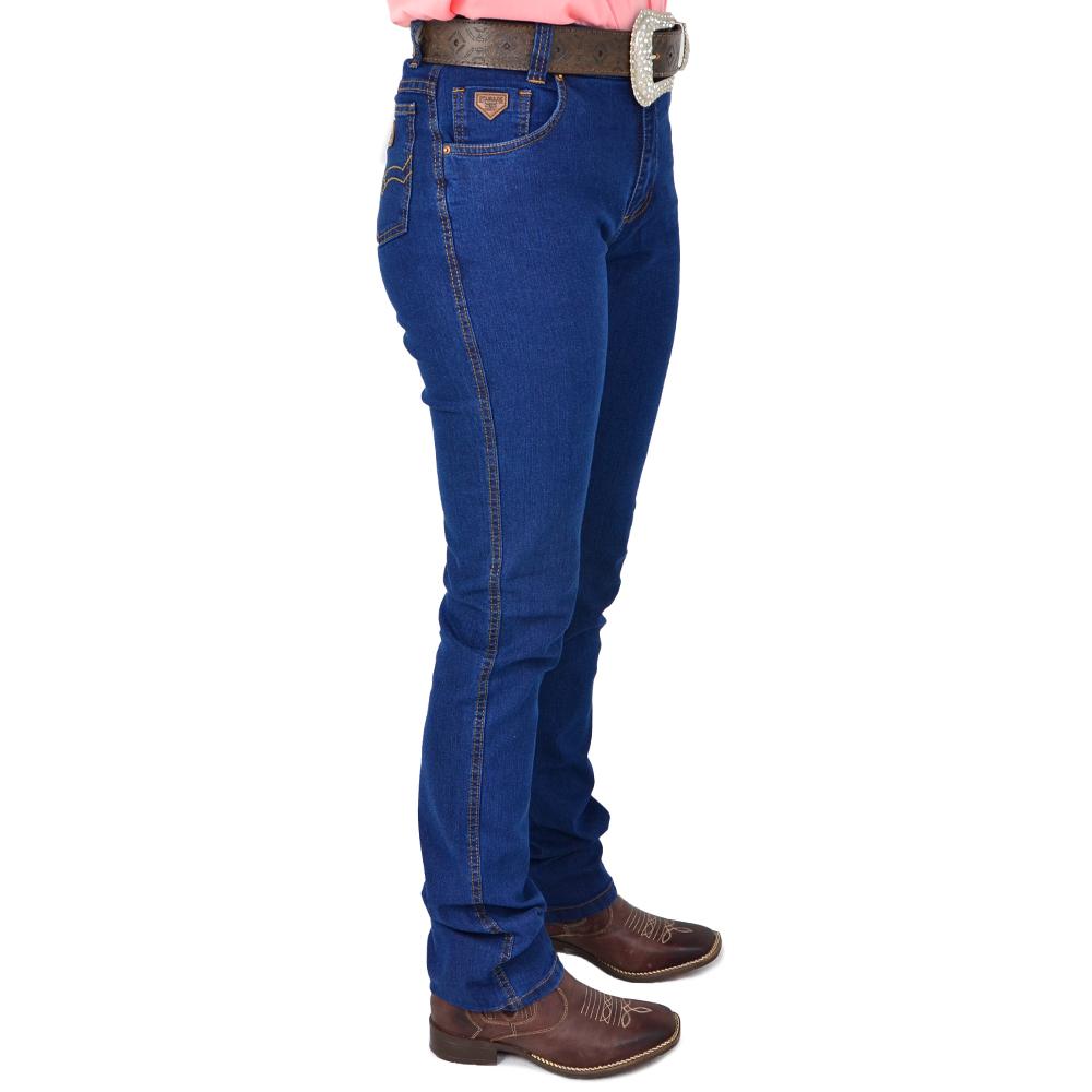 Calça Country Feminina Stabulos Jeans Azul 2010