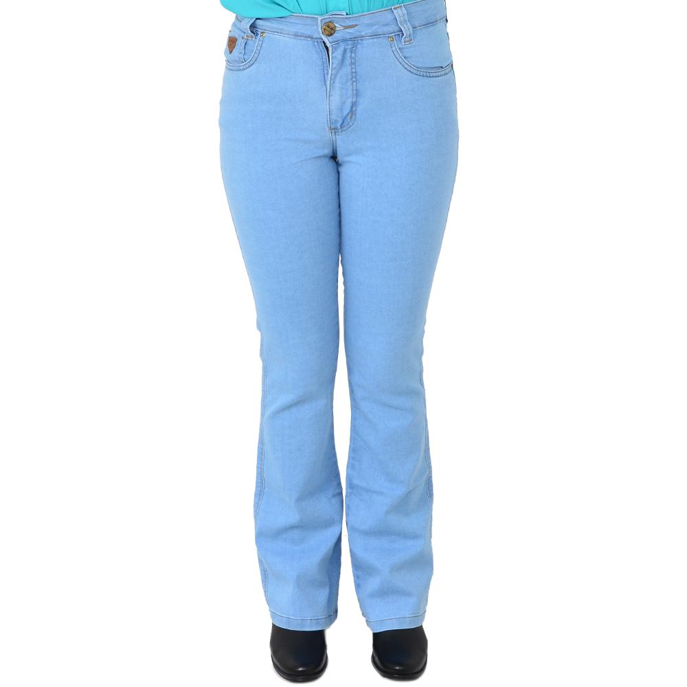 Calça Country Feminina Stabulos Jeans Claro 2011