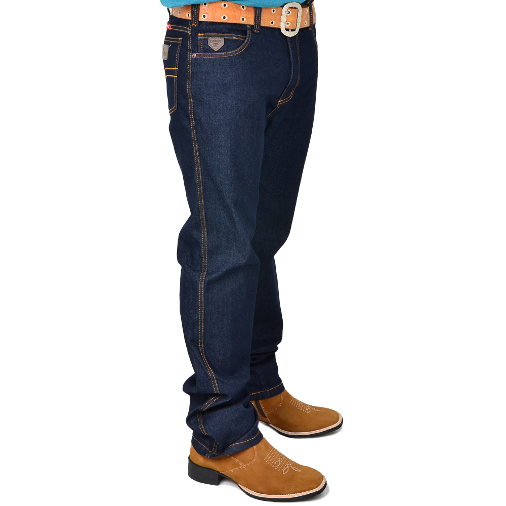 Calça Country Masculina Stabulos Jeans Preto 2014