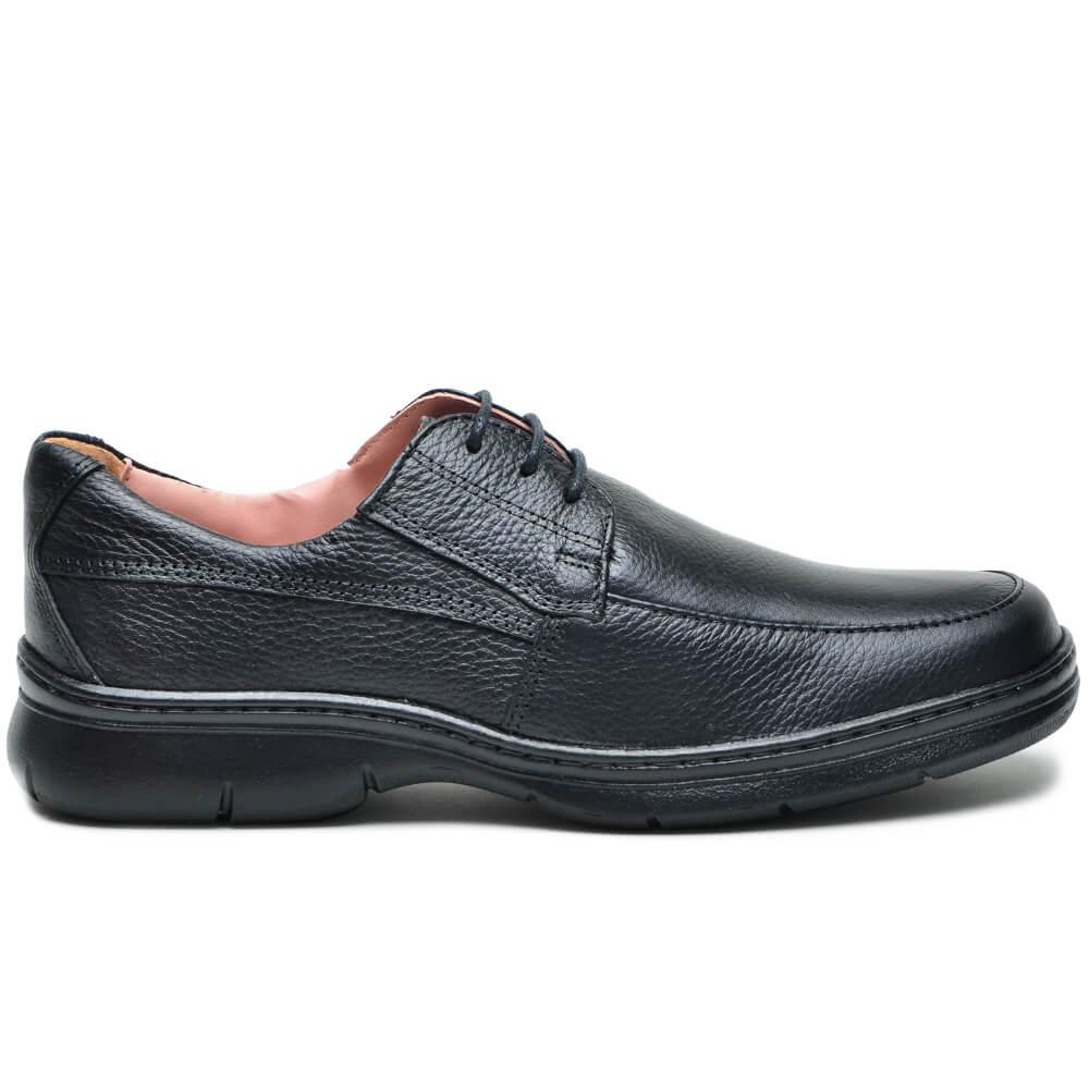 Sapato Confort com Cadarço F501 Cla-Cle