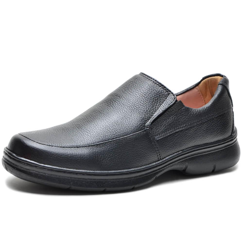 Sapato Confort de Couro F500 Cla-Cle