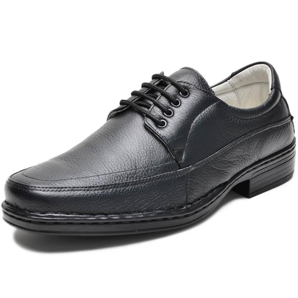 Sapato Social Confort Com Cadarço CR-1006 Cla-Cle