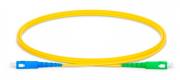 Patch Cord Fibra SC/UPC SC/APC SM SX 3.0MM 2MTS C/ 10  Azul Verde