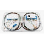 Splitter Óptico PLC 1x16 SC/UPC Azul
