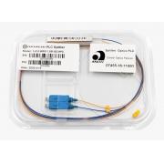 Splitter Óptico PLC 1x2 SC/UPC Azul