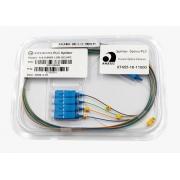 Splitter Óptico PLC 1x4 SC/UPC Azul