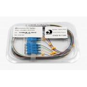 Splitter Óptico PLC 1x8 SC/UPC Azul