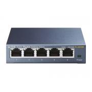 Switch de Mesa TP-LINK de 5 Portas de 10/100/1000Mbps