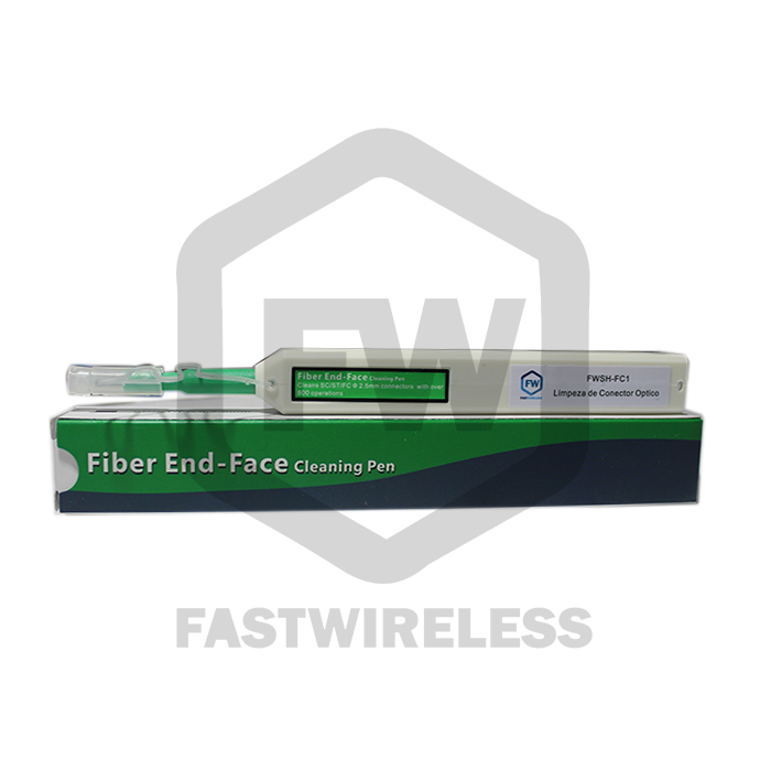 Caneta p/ limpeza de Conector Óptico 2.5MM FWSH-FC1    - FASTWIRELESS