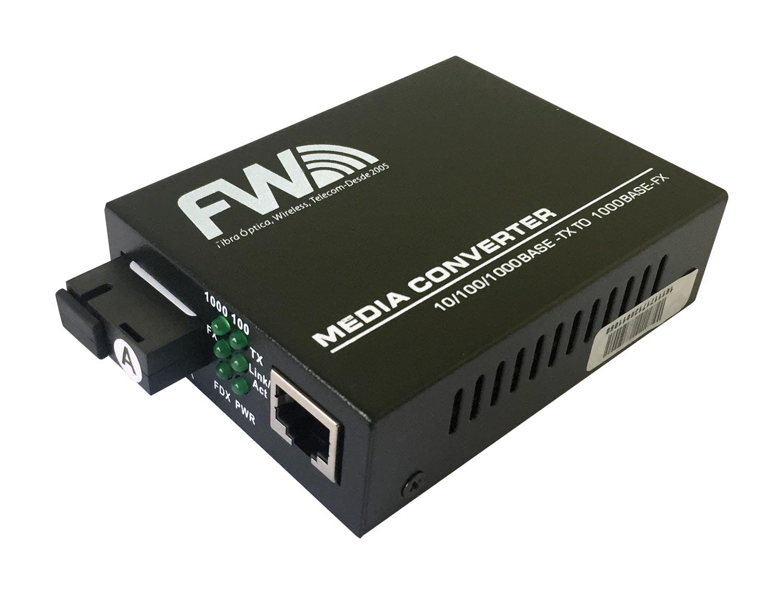 Conversor de Mídia BIDI RJ45 FW - Linha Fastwireless  - FASTWIRELESS