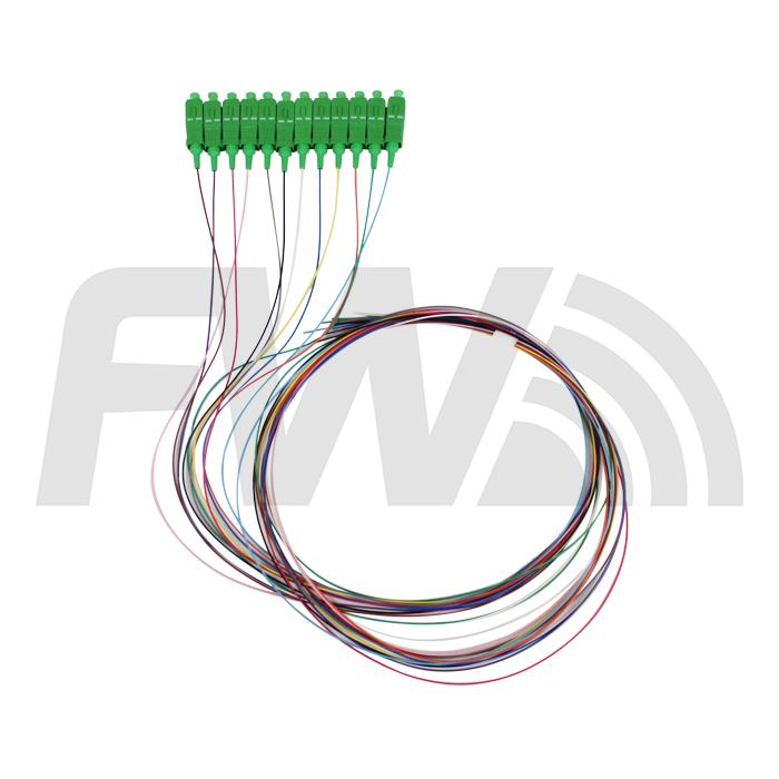Pigtail 12 Cores SC/APC SM 0.9MM 1M     - FASTWIRELESS