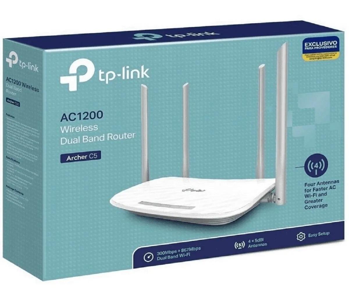 Roteador Wi-Fi Archer C5 W  - FASTWIRELESS