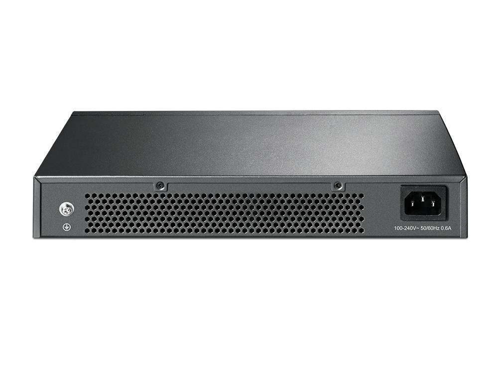Switch Gigabit TP-LINK de mesa ou montável em rack de 24 portas 24 portas 10/100/1000 Mbps  - FASTWIRELESS
