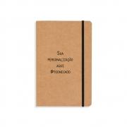 Caderneta tipo Moleskine Personalizado