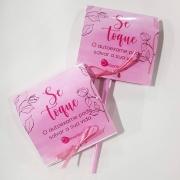 50 Pirulitos Personalizados Outubro Rosa