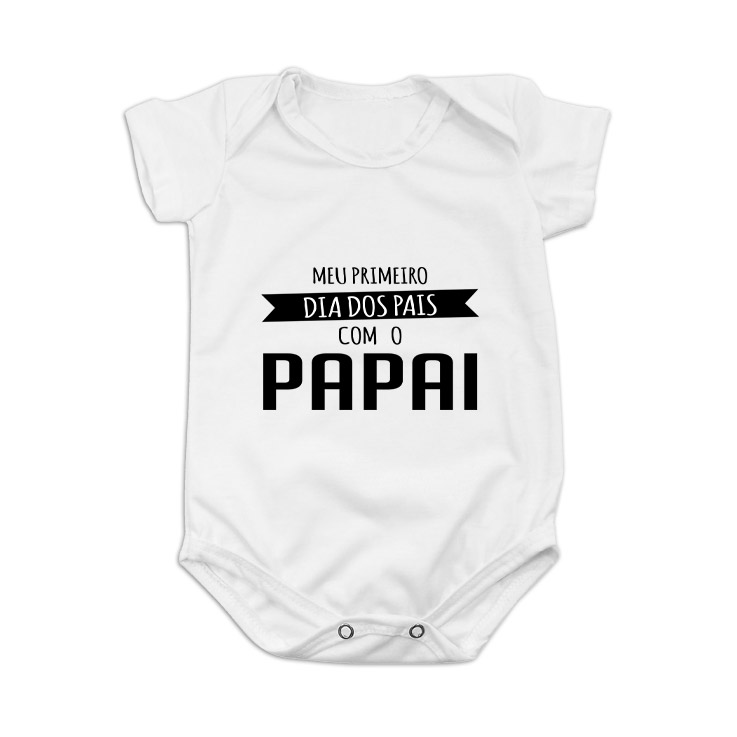 Body Personalizado: Meu primeiro Dia dos Pais