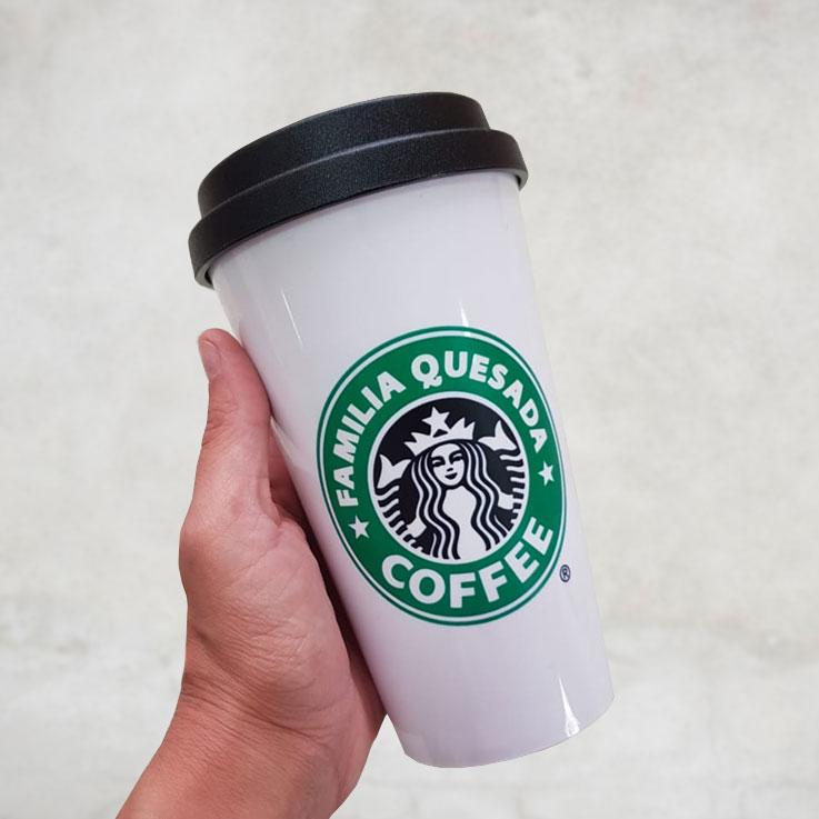 Copo de Plástico Starbucks Personalizado
