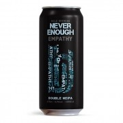 Cerveja Bold Brewing Never Enough Empathy Double NEIPA Lata 473ml
