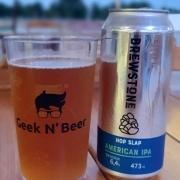 Cerveja Brewstone Hop Slap IPA Lata 473ml