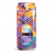 Cerveja Dádiva Laguna Beach West Coast Double IPA Lata 473ml