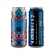 Cerveja Dogma The Hop Is In The Head VII Double IPA Lata 473ml