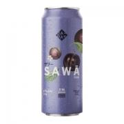 Cerveja Japas Sawā Plum Sour Ale Com Ameixa Lata 473ml