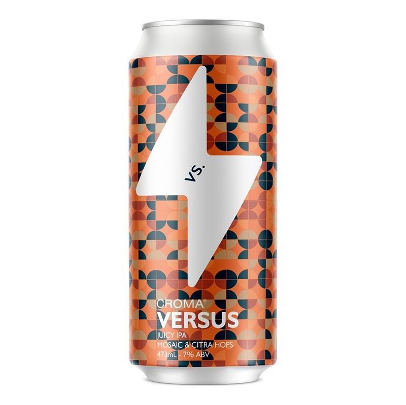Cerveja Croma Versus Mosaic vs. Citra NEIPA Lata 473ml  - Geek N