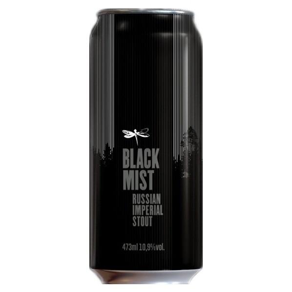 Cerveja Dádiva Black Mist Russian Imperial Stout Lata 473ml  - Geek N