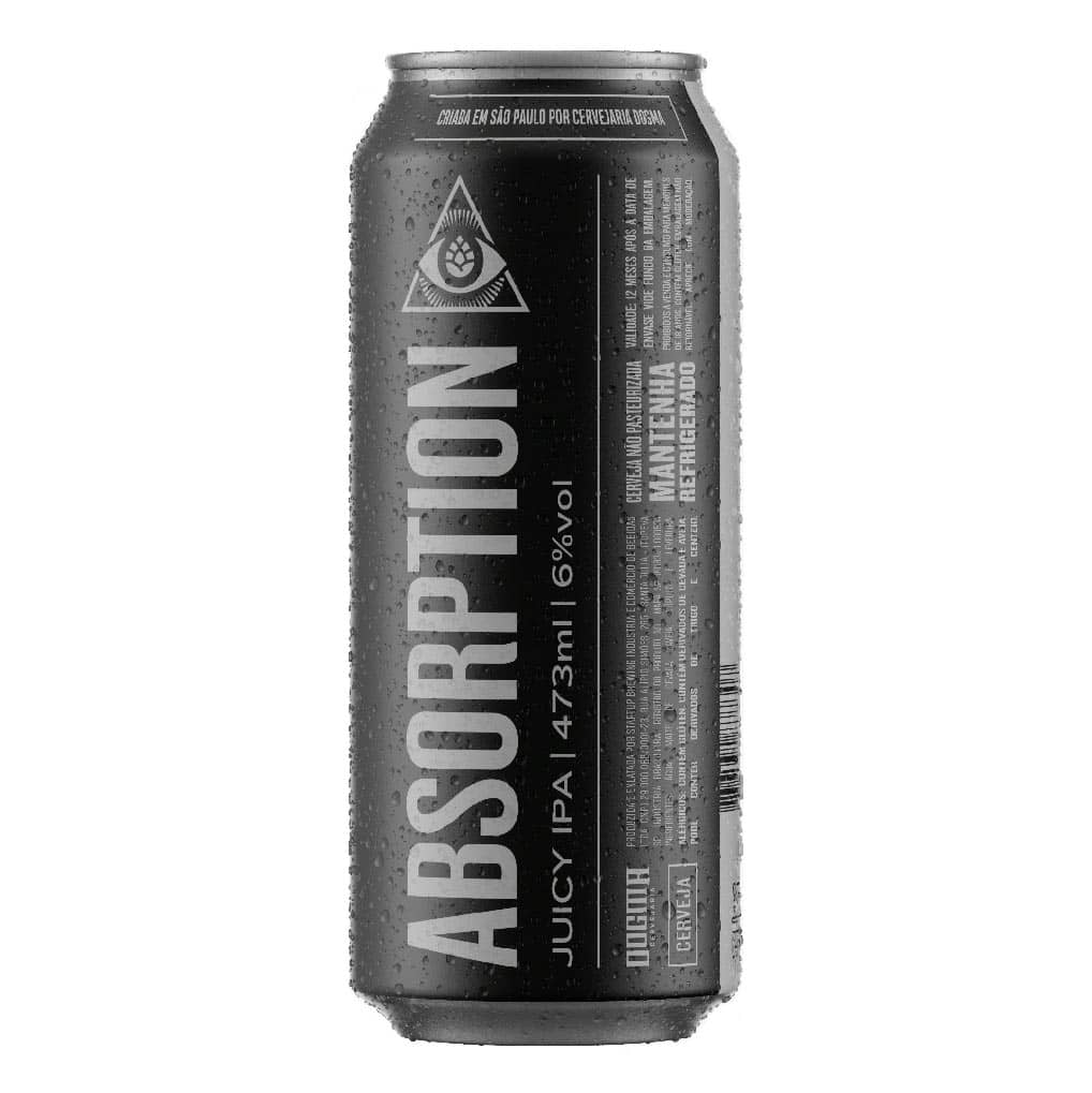 Cerveja Dogma Absorption Juicy IPA Lata 473ml  - Geek N