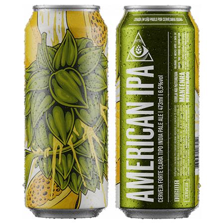 Cerveja Dogma American IPA Lata 473ml  - Geek N