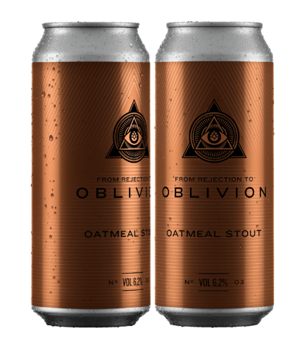 Cerveja Dogma From Rejection To Oblivion III Oatmeal Stout Lata 473ml  - Geek N