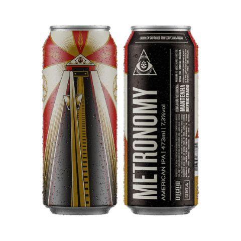 Cerveja Dogma Metronomy West Coast IPA Lata 473ml