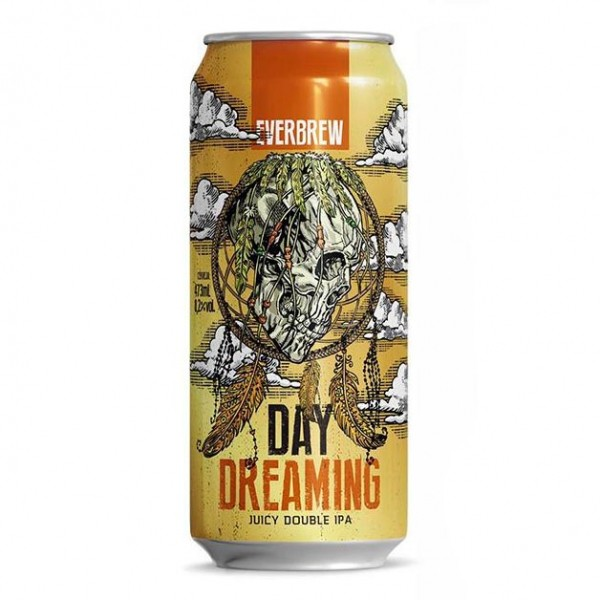 Cerveja Everbrew Day Dreaming Double NEIPA Lata 473ml