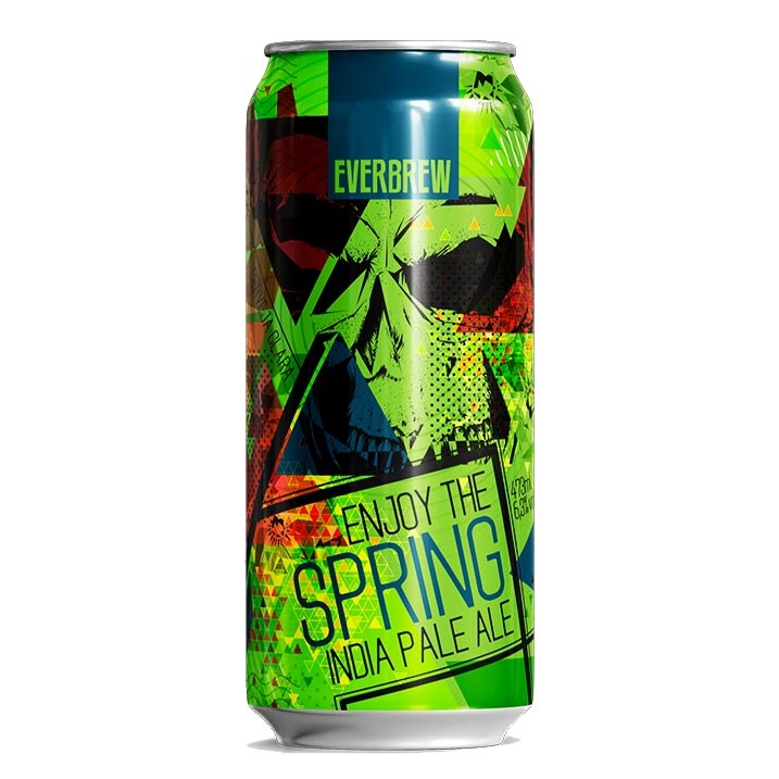 Cerveja Everbrew Enjoy The Spring IPA Lata 473ml