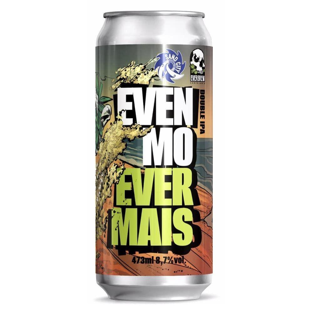Cerveja Everbrew Even More Even Mais Double IPA Lata 473ml